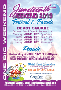 Copy of Juneteenth Weekend 2019 (Festival + Parade)
