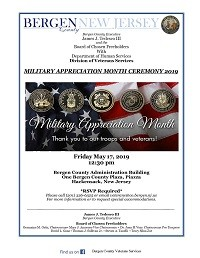 Military Appreciation Month Ceremony 2019