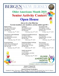 Older Americans Month 2019 Open House