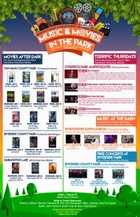 Movies After Dark! Van Saun Park