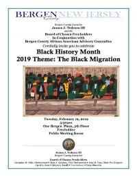 Black History Month Ceremony