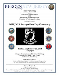POW-MIA Recognition Day Ceremony
