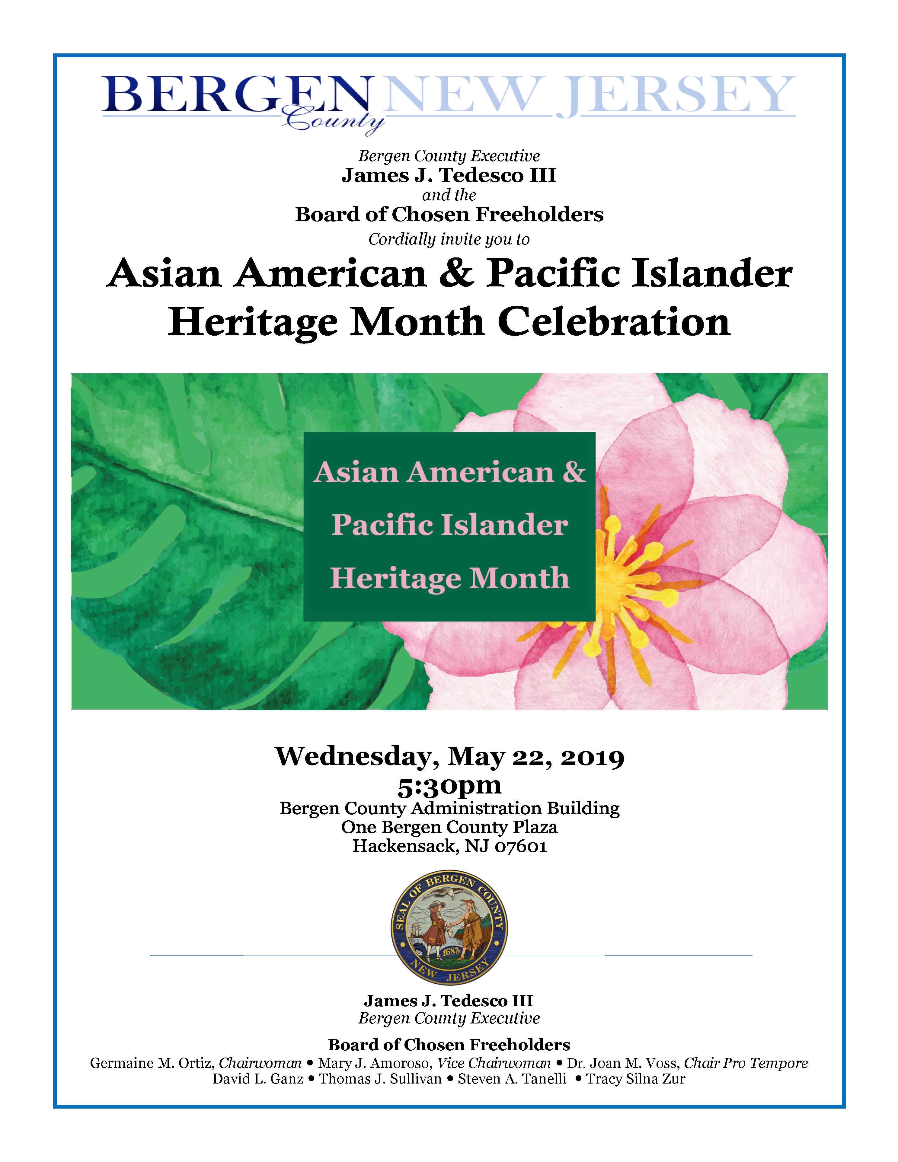 Asian American Heirtage Month Flyer