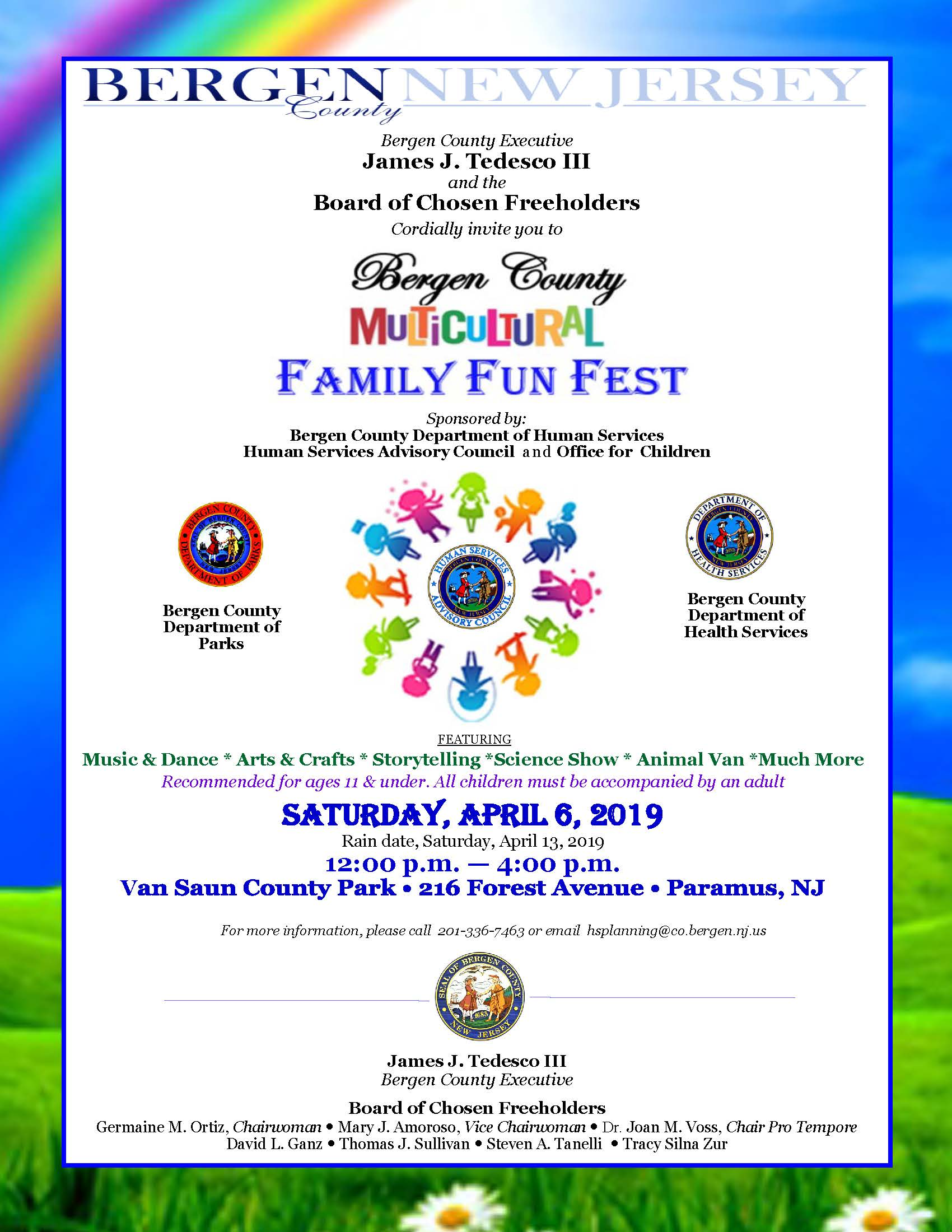 Family Fun Fest Flyer 2019