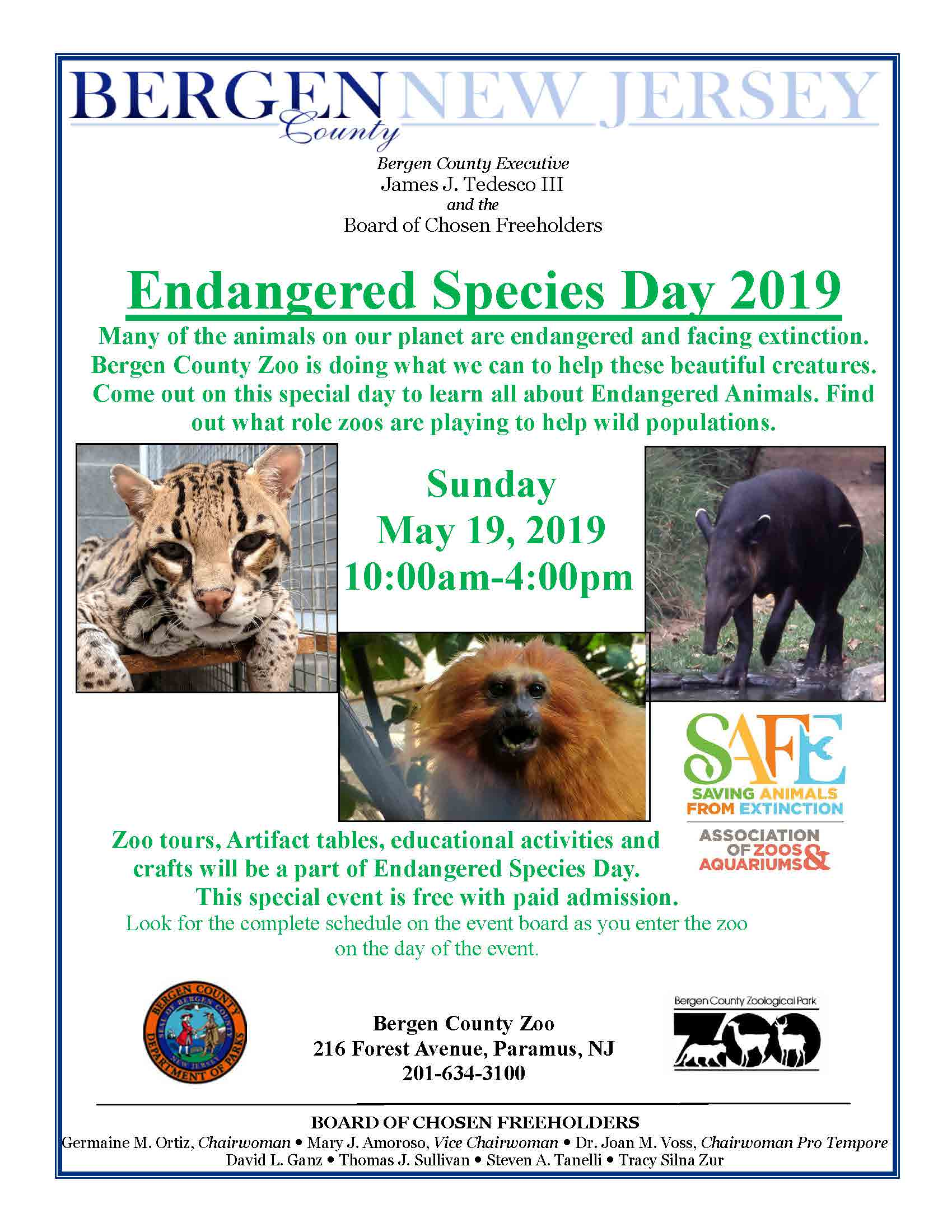 Endangered Species Day May 19 2019