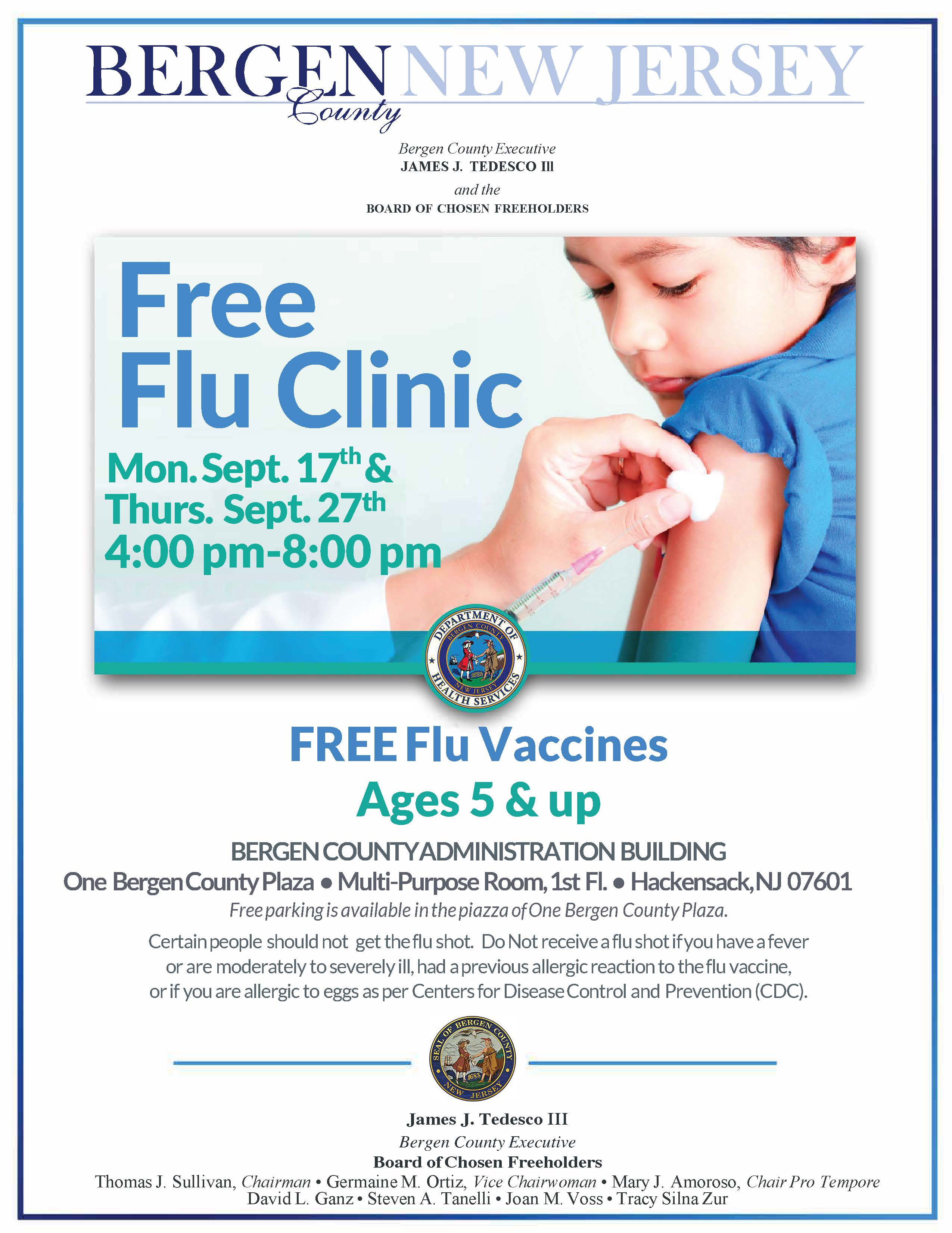 9.17.18 BCDHS Flu Clinic Flyer rev1