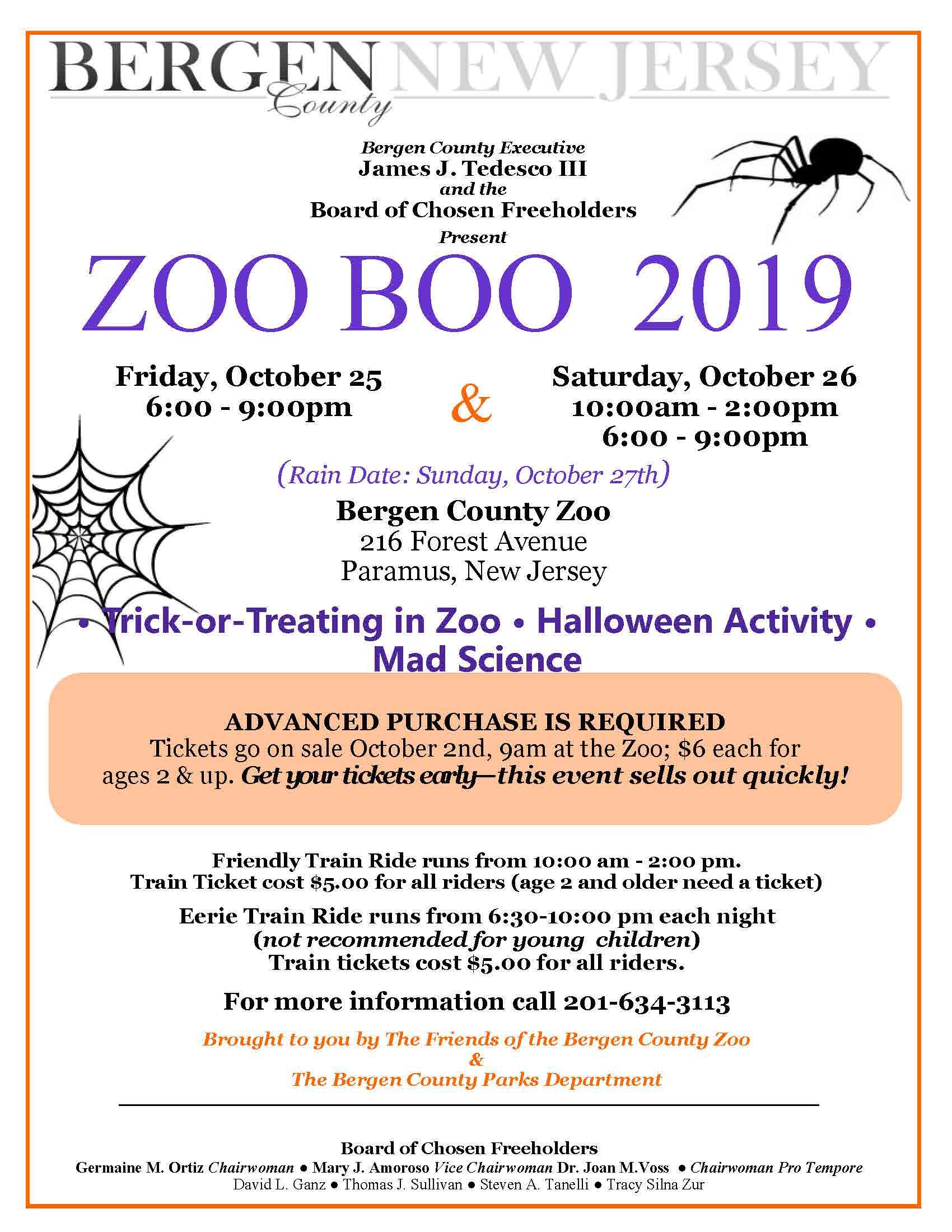 Van Saun Park Halloween 2020 Zoo Boo 2019